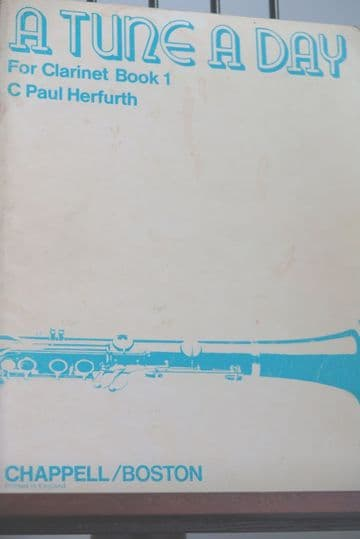 Herfurth C P - A Tune a Day for Clarinet Book 1